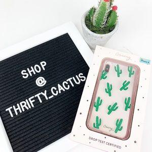 Casery Cactus Design IPhone X Case